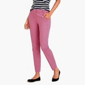 NWT J. Crew Mercantile pink cropped pants